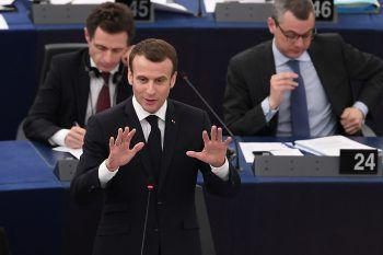 Emmanuel Macron möchte bis Mai 2019 spürbare Ergebnisse erzielen.Foto: AFP