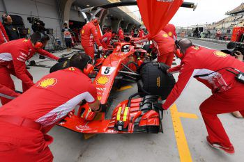 Ferrari hat heuer ein erstklassiges Auto. Foto: AFP