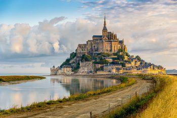 Das berühmteste Wahrzeichen der Bretagne: Die Abtei Mont-Saint-Michel. Fotos: handout/Beate & Werner