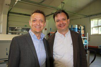 "<p class=""caption"">Georg Geutze und Philipp Tomaselli.</p>"