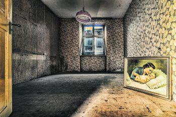 """<p>Gespenstisch: Unbehagliche Stille herrscht auch in den leeren Gängen des """"Haus der Armen"""", im Raum Feldkirch.</p>"""