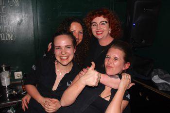 Girls-Power bei der Geburtstags-Party. Fotos: Bandi Koeck