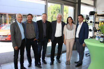Herbert Sausgruber, Franz Josef Winsauer, Hubi Hämmerle, Norbert Loacker, Sabine Gerster, Christoph Jenny.