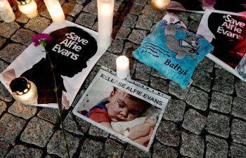 Hohe Anteilnahme von Trauernden.Foto: AFP