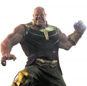 Im Kampf mit dem Titanen Thanos (Josh Brolin) müssen die Avengers alles in die Waagschale werfen. Foto: Disney