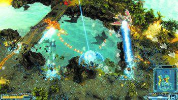 """In """"Xmorph: Defense"""" startet man eine Invasion auf die Erde.Foto: Exorstudios"""