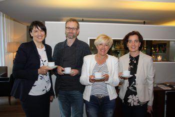 """<p class=""""caption"""">Kerstin Biedermann-Smith, Hanno Reutterer, Marianne Frainer und Adriane Vonbank.</p>"""