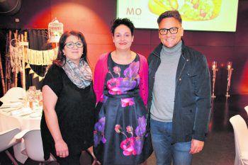 Kerstin Palla, Melanie Pockenauer und Harald Otti. Foto: MoCatering