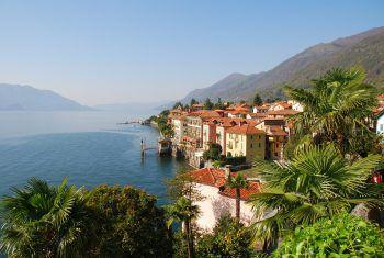 Ein traumhafter Ausblick erwartet die Reisenden am Lago Maggiore. Fotos: handout/weiss Reisen