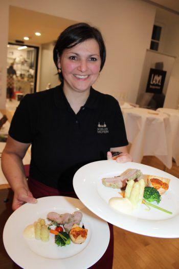 Köstlichkeiten aus der Schloss-Hofen-Küche.Fotos: WAM
