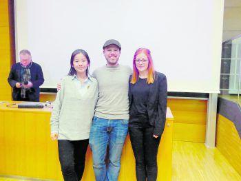 Le Chun Ye, Andreas Rambach, Pia Gfall.