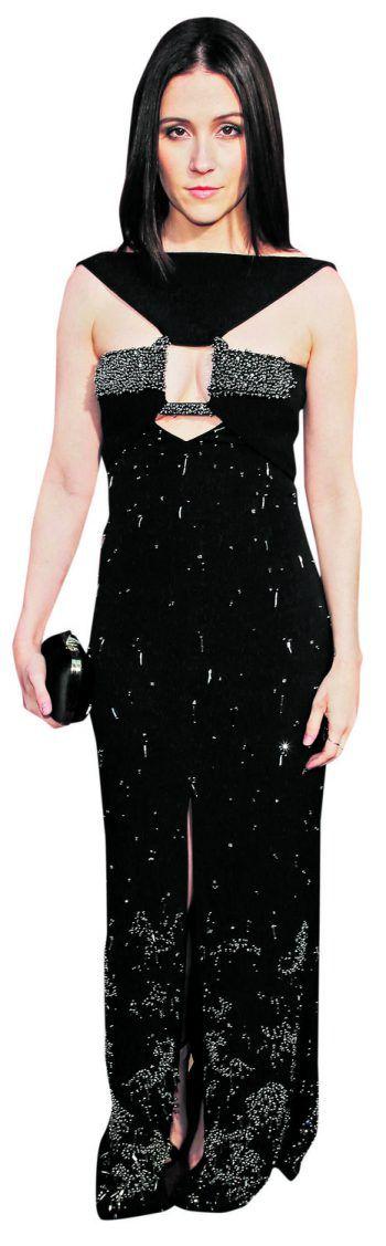 """Los Angeles. Glamourös: Schauspielerin Shannon Woodward bei der Premiere von """"Westworld, Season 2"""" im Cinerama Dome."""