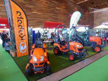 Mähroboter, Rider, Akkugeräte und Kompakttraktoren, ausgestellt in Halle 13, beim Stand 12 der BayWaLamag|Technik.Fotos: handout/BayWaLamag|Technik