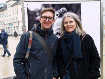"""<p class=""""caption"""">Michael Nussbaumer und Angela Lamprecht.</p>"""