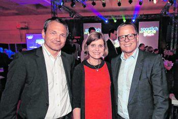 """<p class=""""caption"""">Michael Zangerl, LR Barbara Schöbi-Fink, Roland Frühstück.</p>"""