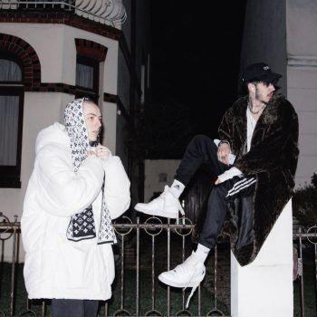 Mit dabei: Kynda Gray und Louis Vuittom.