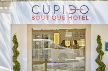 Mit silvollem Ambiente lockt das Cupido Boutique Hotel in Paguera.