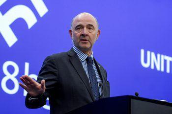 Moscovici gestern in Sofia.Foto: Reuters