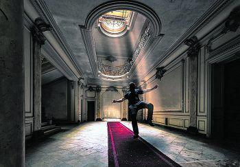 <p>Mystisch: Die leerstehenden Gebäude bieten eine unglaubliche Kulisse.</p>