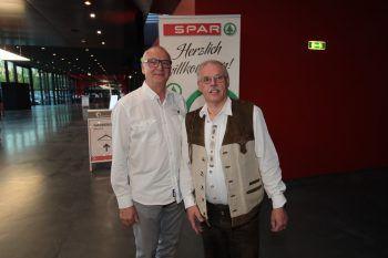 """<p class=""""caption"""">Raimund Moser (Feinkost) und Ernst Marte.</p>"""