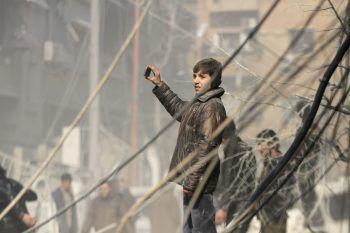 Rund 60 Menschen starben beim Angriff auf die syrische Stadt Duma.Foto: Reuters