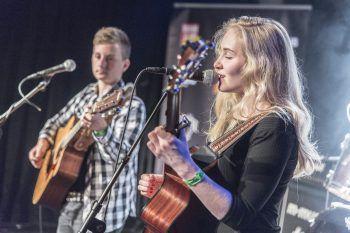 Talente Open Stage: Die Conrad Sohm-Bühne gehört aufstrebenden Acts.Foto: MiK