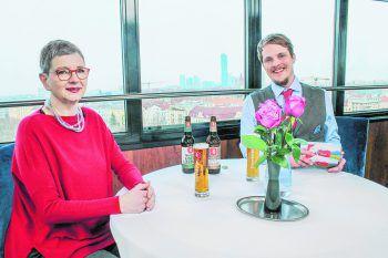 Talk im Riesenrad mit Ulrike Willam-Kinz im LTV Wochenmagazin.