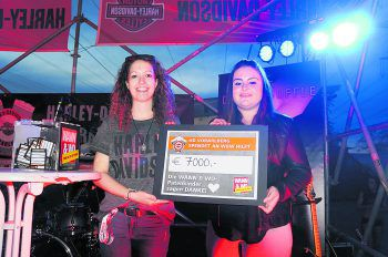 Unglaubliche 7000 Euro konnten an die W&W-Patenkinder gespendet werden! Fotos: Veronika Hotz, W&W