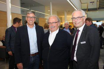 """<p class=""""caption"""">Vize-Bürgermeister Wolfgang Matt, Richard Blenk, Vorstandsdirektor Anton Steinberger.</p>"""