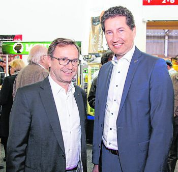 """<p class=""""caption"""">Werner Böhler und Harald Giesinger (Dornbirner Sparkasse).</p>"""