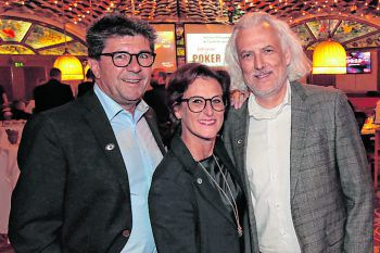 """<p class=""""caption"""">Wolfgang Rother, Sabine Wolf und Jodok Kaufmann.</p>"""