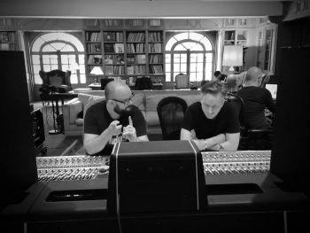 """Work in progress!"" Foto: Facebook/Rammstein"