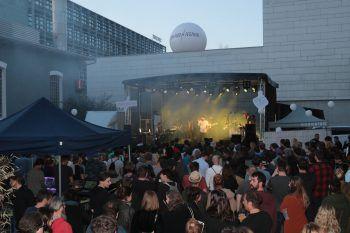 Zahlreiche Gäste folgten den Klängen zum Dynamo Festival. Fotos: Arno Meusburger