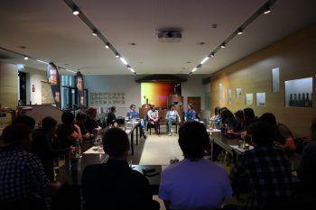 Zahlreiche junge Musiker fanden den Weg zum offenen Austausch beim Talente-Stammtsich in die Creativ Brauerei.Fotos: W&W/Purin