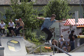 """Beim """"Skate & Blade-Cup"""" können Skater ihre Skills präsentieren.Foto:handout/Susanne Sparr"""