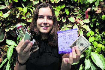 Dass die Genialität in ihrer Einfachheit liegt, findet auch unsere junge Lifehack-Testerin Larissa.Fotos: W&W