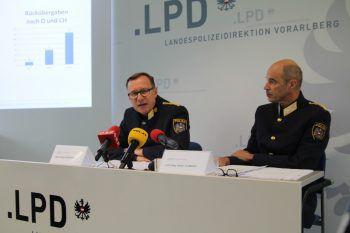 Degasperi und Filzmaier präsentierten gestern die Bilanzen.Foto: VOL.AT/Rauch