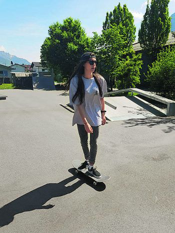Den Sommer verbringt Alina am Board.