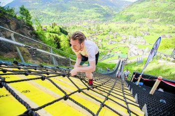 Der etwas andere Berglauf auf der Skisprungschanze im Montafon. Foto: X Challenge Montafon