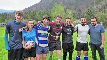 Der Rugby Union Football Club Vorarlberg will am Samstag alles geben.Foto: WANN & WO