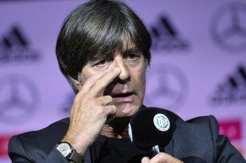 DFB-Teamchef Jogi Löw gab gestern den vorläufigen Kader bekannt.Foto: AP