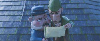 Dr. Watson und Sherlock Gnomes ermitteln gemeinsam im Fall der verschwundenen Gartenzwerge.Fotos: Constantin Film