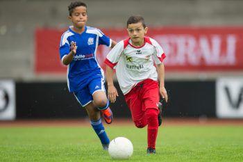 Junge Talente, wie hier vom FC Dornbirn, messen sich mit europäischen Teams.Fotos: Sams, MiK