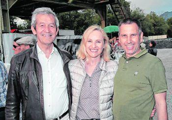 """<p class=""""caption"""">Mediziner Heinz Vogel, Margot Becker und Stefan Knünz.</p>"""