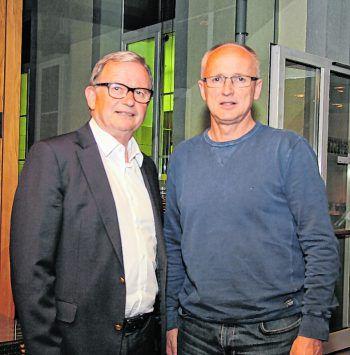 """<p class=""""caption"""">NR Karlheinz Kopf und Georg Zellhofer.</p>"""