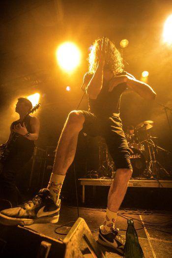 """<p class=""""caption"""">Brutal, energisch, und laut – so würde sich die Band """"Reason of Sin"""" selbst beschreiben. Foto: Sams</p>"""