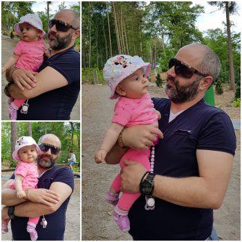 "<p class=""caption"">Alessia mit Papa Cono Fusco.</p><p class=""caption"" />"