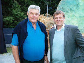 Bgm. Mandi Katzenmeyer und Vereinsstadtrat Christoph Thoma.Foto: handout/Thoma