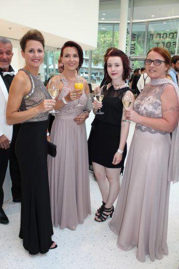 Burgenland-Quartett: Manuela Prenner, Anita Gold, Tamara Fritz und Rita Schermann.