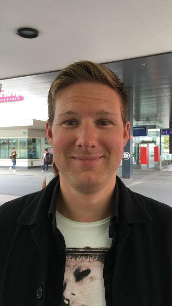 """<p>Christian, 31, Dornbirn: """"Ich werde mir die Spiele wahrscheinlich nicht ansehen. Mich interessiert vor allem der taktische Hintergrund eines Fußballspiels und nicht das große Event an sich.""""</p>"""